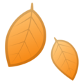 Fallen Leaf on Google Android 10.0