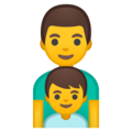 Family: Man, Boy on Google Android 10.0