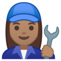 Woman Mechanic: Medium Skin Tone on Google Android 10.0