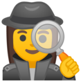 Woman Detective on Google Android 10.0
