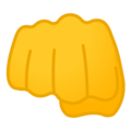 Oncoming Fist on Google Android 10.0