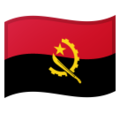 Flag: Angola on Google Android 10.0