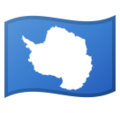 Flag: Antarctica on Google Android 10.0