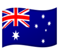 Flag: Australia on Google Android 10.0