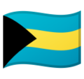 Flag: Bahamas on Google Android 10.0