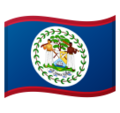 Flag: Belize on Google Android 10.0