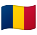 Flag: Chad on Google Android 10.0