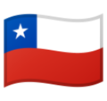 Flag: Chile on Google Android 10.0