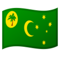 Flag: Cocos (Keeling) Islands on Google Android 10.0