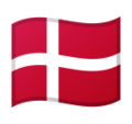 Flag: Denmark on Google Android 10.0