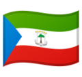 Flag: Equatorial Guinea on Google Android 10.0