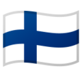 Flag: Finland on Google Android 10.0
