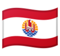 Flag: French Polynesia on Google Android 10.0