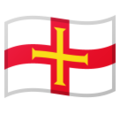 Flag: Guernsey on Google Android 10.0