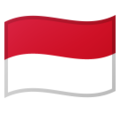 Flag: Indonesia on Google Android 10.0