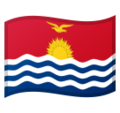 Flag: Kiribati on Google Android 10.0