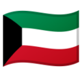 Flag: Kuwait on Google Android 10.0