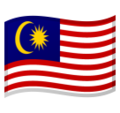 Flag: Malaysia on Google Android 10.0