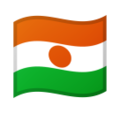 Flag: Niger on Google Android 10.0