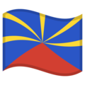 Flag: Réunion on Google Android 10.0