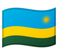 Flag: Rwanda on Google Android 10.0