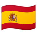 Flag: Spain on Google Android 10.0