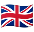 Flag: United Kingdom on Google Android 10.0
