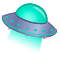 Flying Saucer on Google Android 10.0