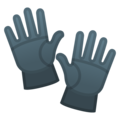 Gloves on Google Android 10.0