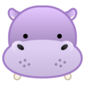 Hippopotamus on Google Android 10.0