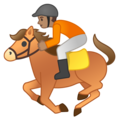 Horse Racing: Medium Skin Tone on Google Android 10.0