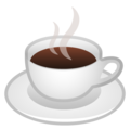 Hot Beverage on Google Android 10.0