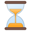 Hourglass Not Done on Google Android 10.0