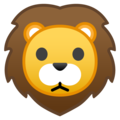 Lion Face on Google Android 10.0