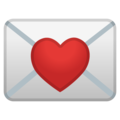Love Letter on Google Android 10.0
