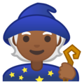 Mage: Medium-Dark Skin Tone on Google Android 10.0