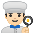 Man Cook: Light Skin Tone on Google Android 10.0