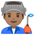 Man Factory Worker: Medium Skin Tone on Google Android 10.0
