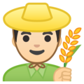 Man Farmer: Light Skin Tone on Google Android 10.0