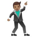 Man Dancing: Medium Skin Tone on Google Android 10.0