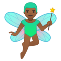 Man Fairy: Medium-Dark Skin Tone on Google Android 10.0