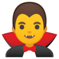 Man Vampire on Google Android 10.0