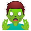 Man Zombie on Google Android 10.0