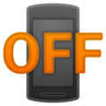 Mobile Phone Off on Google Android 10.0