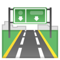 Motorway on Google Android 10.0