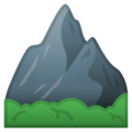 Mountain on Google Android 10.0