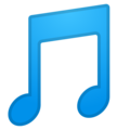 Musical Note on Google Android 10.0