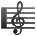 Musical Score on Google Android 10.0