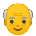Old Man on Google Android 10.0