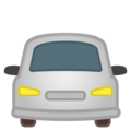 Oncoming Automobile on Google Android 10.0